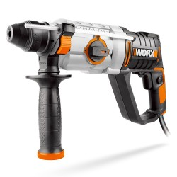 Perforateur horizontal 3 fonctions 800W 2.5J worx