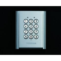 AC10S: Clavier saillie rétro éclairé 100 codes 2 relais 12/24 VCA-CC