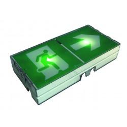 Bloc d'évacuation SATI 100% LEDs - 45 lm - IP43/IK08