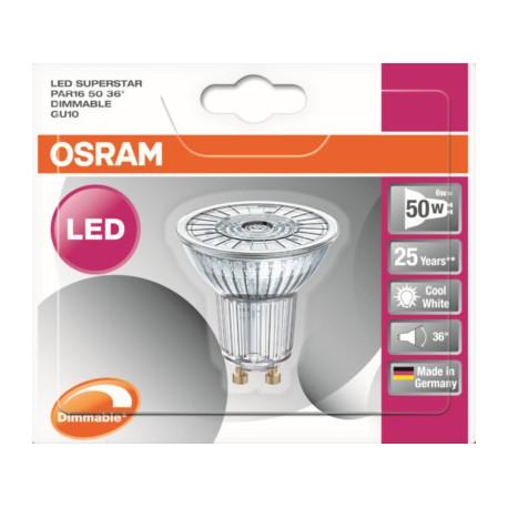 Osram W 2700k De Chaud Puissance 3 995807 Spot Blnc L'ampoule4 Led CxoedB