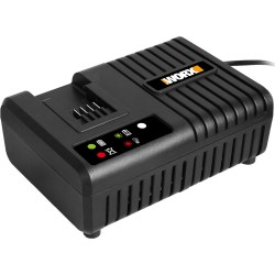 Chargeur rapide 20 V WA3867 toutes batteries Worx