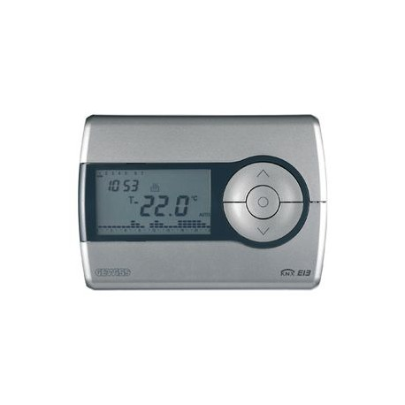 Thermostat programmable Titane Gewiss master system knx domotique