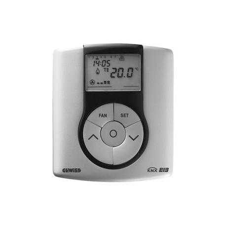 Thermostat Gewiss easy system domotique knx titane