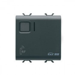 Recepteur rf 8 canaux noir Gewiss master system knx domotique
