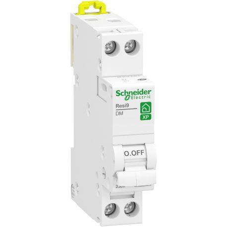 disjoncteur Schneider 1P+N 20A courbe C peignable Resi9 XP