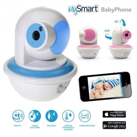 Baby Phone connecté avec camera motorisée mySmart KONIX