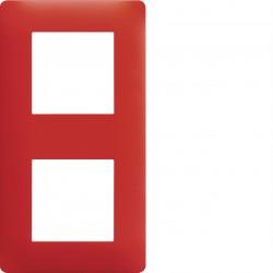 essensya Plaque 2 p. entr 57 Rouge émail