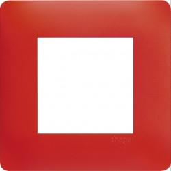 essensya Plaque 1 poste Rouge émail