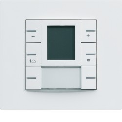 Thermostat KNX multifonctions blanc