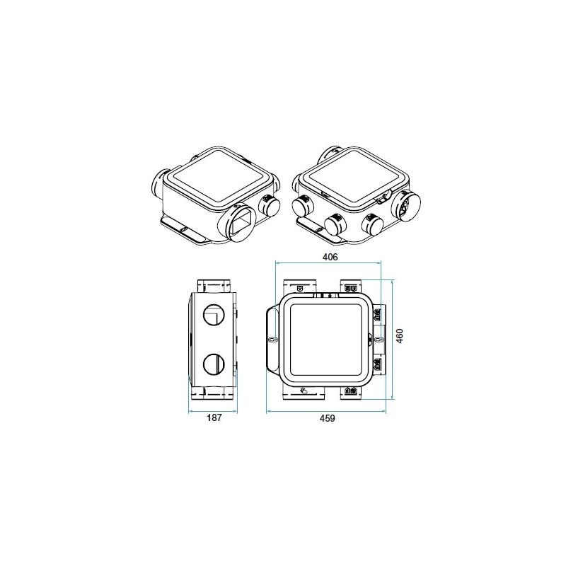 kit vmc simple flux easyhome pureair compact connect    aldes