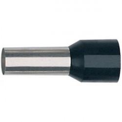 Embouts de câblage 1 x 1 mm² x 8 mm (x100pcs) - ROUGE / Klauke