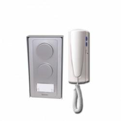 Kit audio 2 fils (bus non polarisés) en saillie GAS1220SII / Bitron