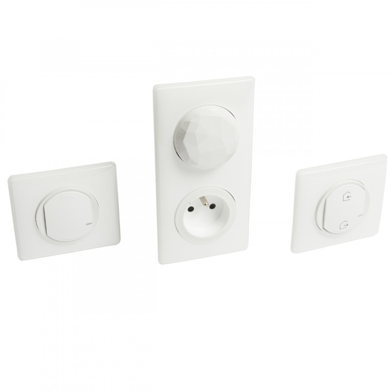pack d marrage eclairage prise blanc c liane netatmo legrand. Black Bedroom Furniture Sets. Home Design Ideas