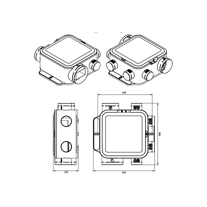 kit vmc easyhome compact premium mw hygro aldes. Black Bedroom Furniture Sets. Home Design Ideas