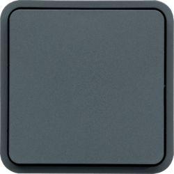 cubyko bouton poussoir 1O/1F assoc. gris