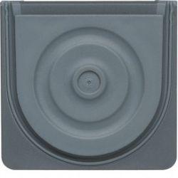 cubyko Entrée de tube et câble gris