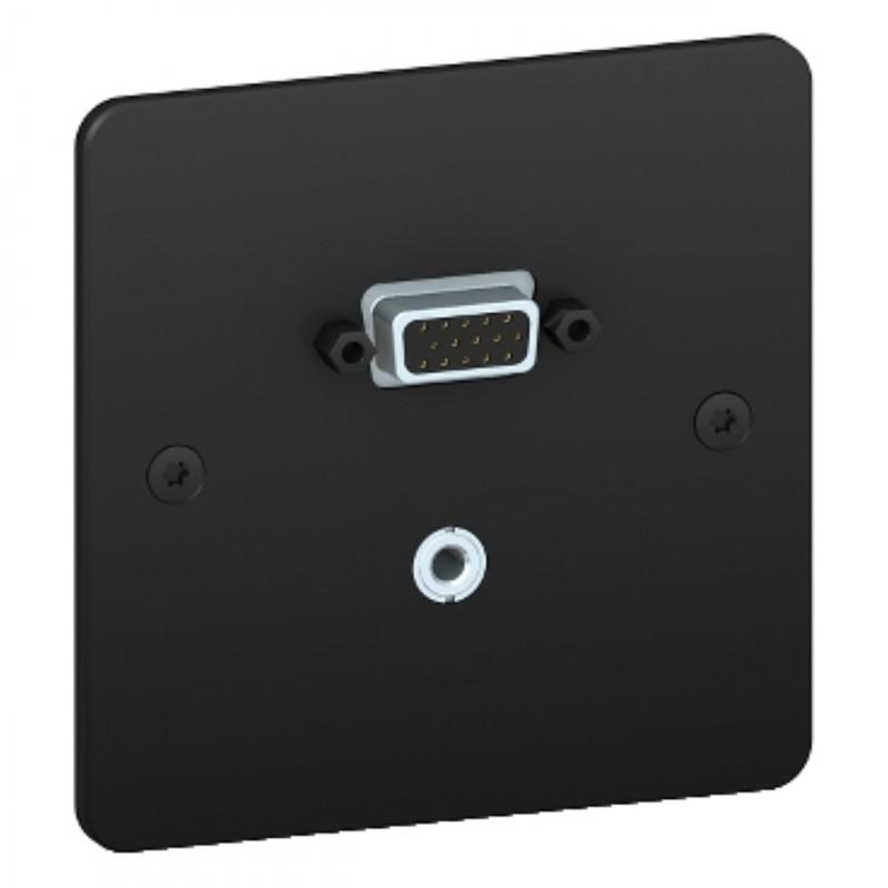 s800463bm prise hd15 mini jack sequence 5 schneider. Black Bedroom Furniture Sets. Home Design Ideas