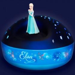 Projecteur musical étoiles Elsa - Reine des Neiges / Trousselier