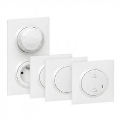 Pack de démarrage connecté éclairage + prise Blanc - Dooxie / Legrand
