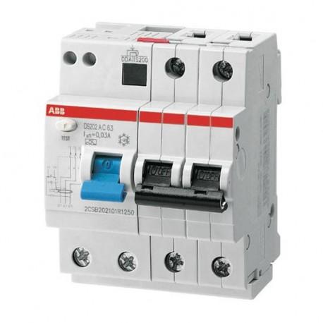 fournisseur officiel vraiment pas cher design exquis 2CSR272001R1104 disjoncteur différentiel DS202 M AC-C10/0,03 ABB