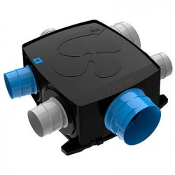 Kit VMC plate autocosy IH flex 4 sanitaires (3 bouches line) / Atlantic