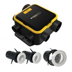 Kit VMC EasyHome Compact Auto + Bouche BIP / Aldes
