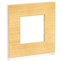 Unica Pure - plaque de finition - Bois nordique - 1, 2, 3 ou 4 postes