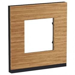 Unica Pure - plaque de finition - Chêne liseré - 1, 2, 3 ou 4 postes
