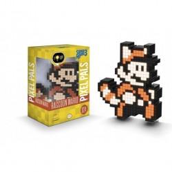 Super Mario Raccoon - Figurine lumineuse / Pixel Pals