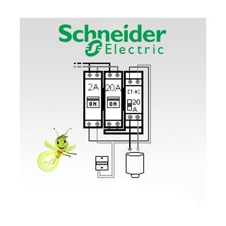 Circuit Chauffe Eau électrique En Option Pour Tableau Schneider