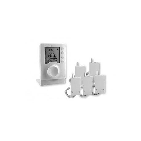 Pack driver 620 radio fp programmateur 2 zones pour for Programmateur chauffage electrique