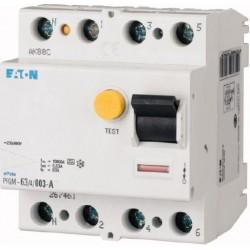 Interrupteur différentiel PFGM - 4x63A 30mA Type AC / EATON