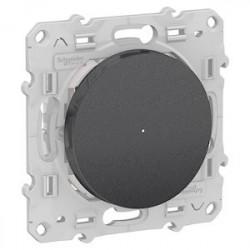 Interrupteur Bluetooth Odace Wiser - Alu / Schneider