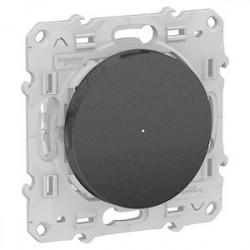 Variateur Poussoir Bluetooth Odace Wiser - Alu / Schneider