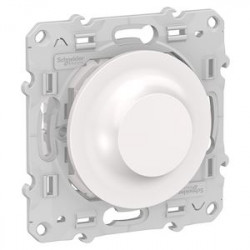 Variateur Poussoir Bluetooth Odace Wiser - Blanc / Schneider