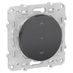Interrupteur Volets Roulants Bluetooth Odace Wiser - Alu / Schneider