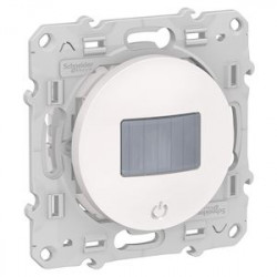 Detecteur + interrupteur Bluetooth Odace Wiser - Blanc / Schneider