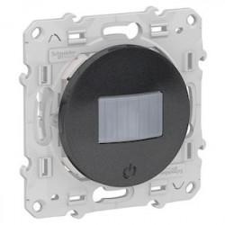Detecteur + variateur Bluetooth Odace Wiser - Alu / Schneider