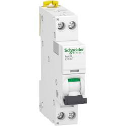 Acti9 iDT40T - 1P+N - 10A - courbe C - 4500A/6kA / Schneider