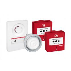 Prêt à poser tableau d'alarme incendie type4 - alim secteur / Legrand