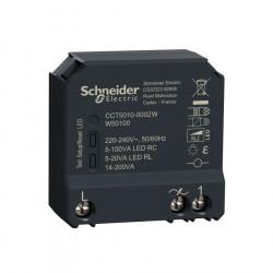 Micromodule encastré zigbee Schneider pour variateur de lumière
