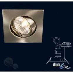 Bombay Spot encastré 1 x 50w Spot Carré Gris Luminaire Podium Philips
