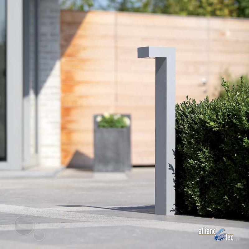 Nexis borne grand mod le 1 x 9w ip44 blanc luminaire for Philips luminaire exterieur