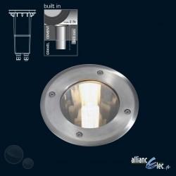 Onyx Spot encassé de sol IP67 1 x 20w Luminaire Jardin Podium Philips