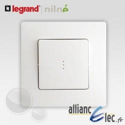 Interrupteur ou va et vient lumineux ou témoin Legrand Niloe Pur Blanc