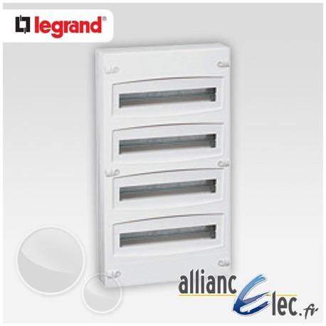 Coffret electrique legrand ekinoxe tx 4 rangees 01804 - Coffret armoire electrique ...