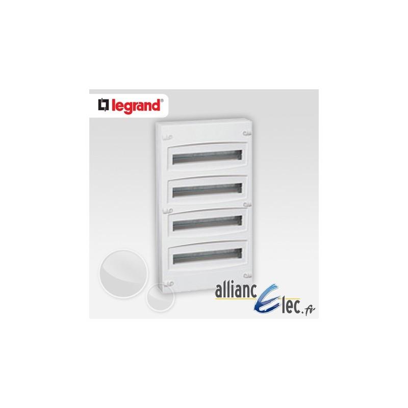 coffret electrique legrand 4 rangees 28 images legrand. Black Bedroom Furniture Sets. Home Design Ideas