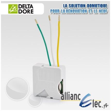 Micromodule metteur radio pour interrupteur 2 voies for Delta dore tyxia 2610