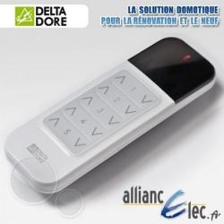 Télécommande de pièce - 5 voies Montée/Descente ou Marche/Arrêt et variation - Deltadore Tyxia 1600