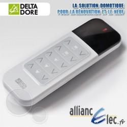 Télécommandes de pièce - 2 voies Montée/Descente et 3 voies Marche/Arrêt - Deltadore Tyxia 1602